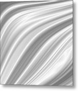 Background Abstract White Smooth Metal Print