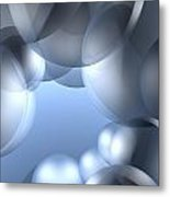 Background Effect Metal Print