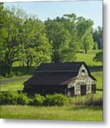 Backroads Barn Metal Print by Robert J Andler
