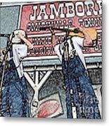 Backwards Bluegrass Metal Print