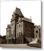 Bacon Hall University Of California Berkeley Circa1895 Metal Print