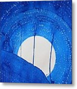 Bad Moon Rising Original Painting Metal Print