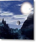 Bad Moons On The Rise Metal Print