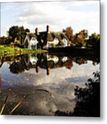Badger House Metal Print
