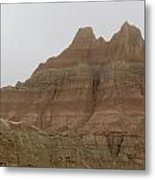 Badlands Beauty  Metal Print by Diane Mitchell