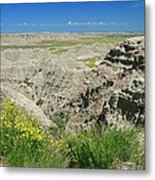 Badlands National Park  1 Metal Print