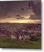 Badlands National Park Metal Print