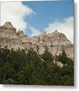 Badlands National Park View Metal Print