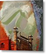 Badshahi Mosque 2 Metal Print by Catf