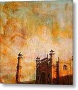 Badshahi Mosque Metal Print by Catf