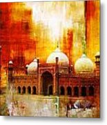 Badshahi Mosque Or The Royal Mosque Metal Print
