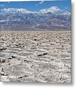 Badwater Basin - Death Valley Metal Print