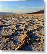 Badwater Basin Metal Print