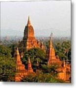 Bagan Temples Metal Print