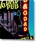 Bagdad Pub Metal Print by Gail Lawnicki