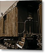 Baggage Car Metal Print