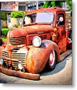 Bagged Out Dodge Metal Print