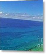 Bahama Colors Metal Print