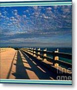 Bahia Honda Bridge In The Florida Keys Metal Print