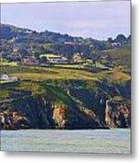 Baily Lighthouse Panorama 1 Metal Print