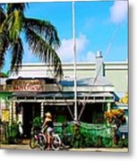 Bait And Tackle Key West Metal Print