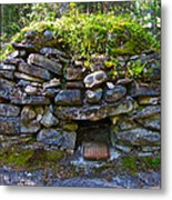 Bake Oven From 1884-5 In  Kicking Horse Campground In Yoho Np-bc Metal Print