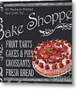 Bake Shoppe Metal Print