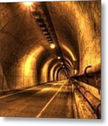 Baker Barry Tunnel Metal Print