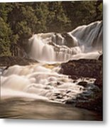 Bakers Brook Falls Metal Print