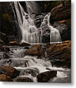 Bakers Fall. Horton Plains National Park. Sri Lanka Metal Print