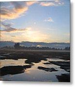 Bakersfield Sunrise Metal Print