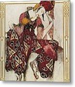 Bakst, L�on 1866-1924. La P�ri. 1911 Metal Print