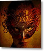 Bal Masque Metal Print