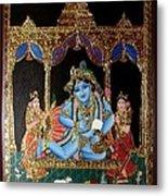 Balakrishna Metal Print by Jayashree