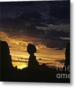 Balance Rock Arches National Park Metal Print