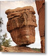 Balanced Rock Metal Print