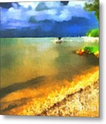 Balaton Shore Metal Print