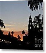 Balboa At Sunset  Metal Print
