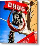 Balboa Pharmacy Drug Store Newport Beach Photo Metal Print