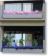 Balconies 4 Metal Print