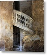 Balcony At Les Invalides Paris Metal Print