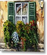 Balcony Of Napoly Metal Print