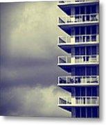 Balcony Study Metal Print
