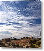 Bald Rock Glacial Erratics Metal Print