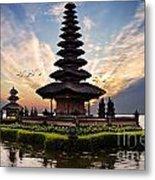 Bali Water Temple 2 Metal Print