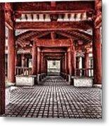Balikun Xibo Temple Metal Print