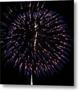 Ball Of Fire Metal Print