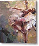 Ballerina 40 Metal Print