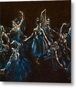 Ballerina Ghosts Metal Print by Jani Freimann