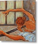 Ballerina II Metal Print by Xueling Zou